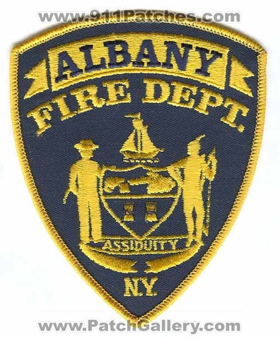 Albany Fire Department Patch New York NY - SKU244