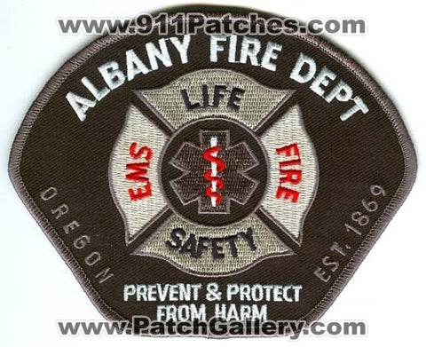 Albany Fire Department Patch Oregon OR