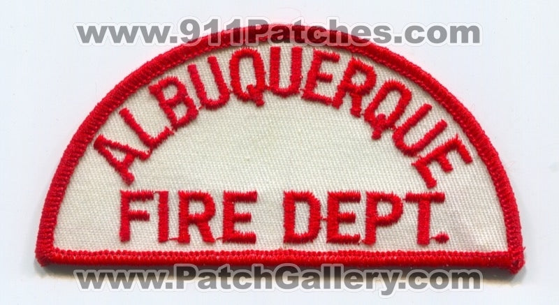 Albuquerque Fire Department Patch New Mexico NM