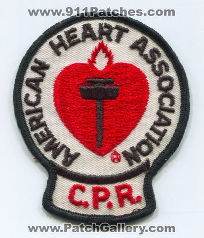American Heart Association CPR EMS Patch No State Affiliation