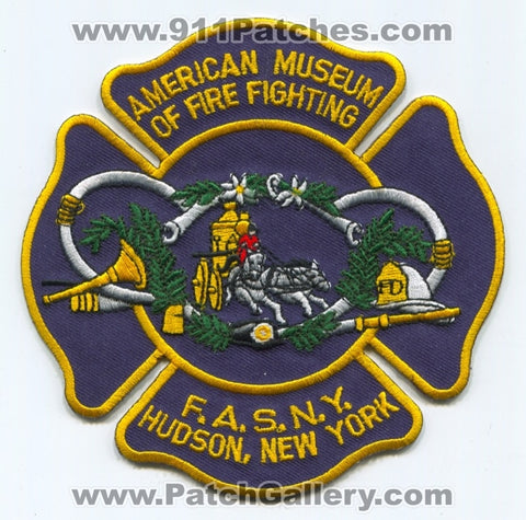American Museum of Firefighting Patch New York NY