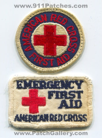 American Red Cross Emergency First Aid Patch No State Affiliation