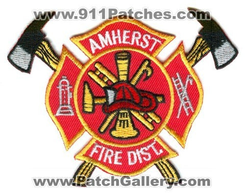 Amherst Fire District Patch Wisconsin WI