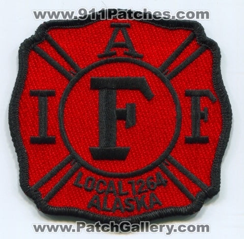 Anchorage Fire Department IAFF Local 1264 Patch Alaska AK