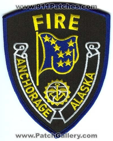 Anchorage Fire Department Patch Alaska AK