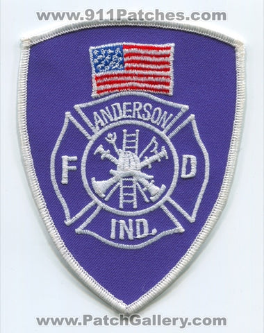 Anderson Fire Department Patch Indiana IN