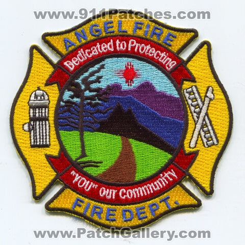 Angel Fire Department Patch New Mexico NM