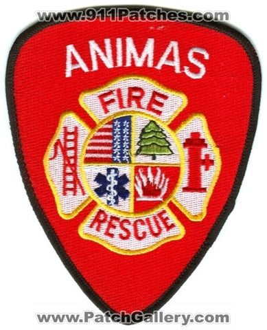 Animas Fire Rescue Department Patch Colorado CO