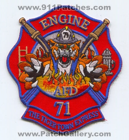 Arlington Fire Department Engine 71 Patch Tennessee TN