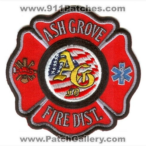 Ash Grove Fire District Patch Missouri MO