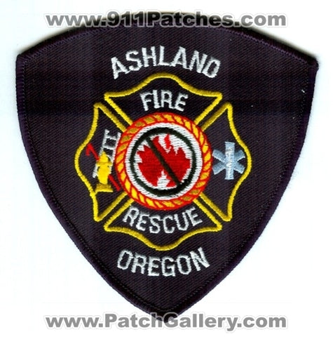 Ashland Fire Rescue Department Patch Oregon OR