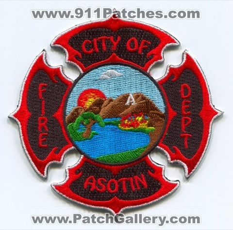 Asotin Fire Department Patch Washington WA