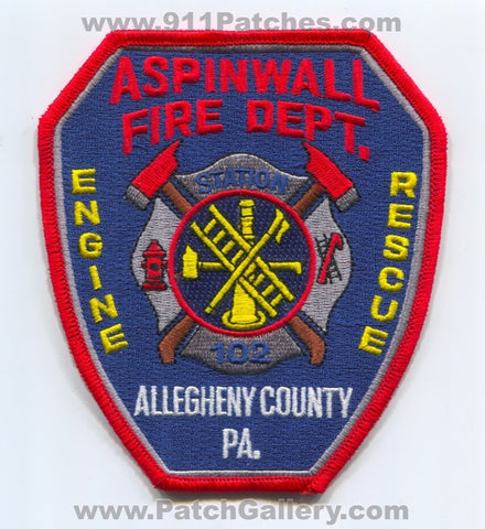 Aspinwall Fire Department Station 102 Allegheny County Patch Pennsylvania PA