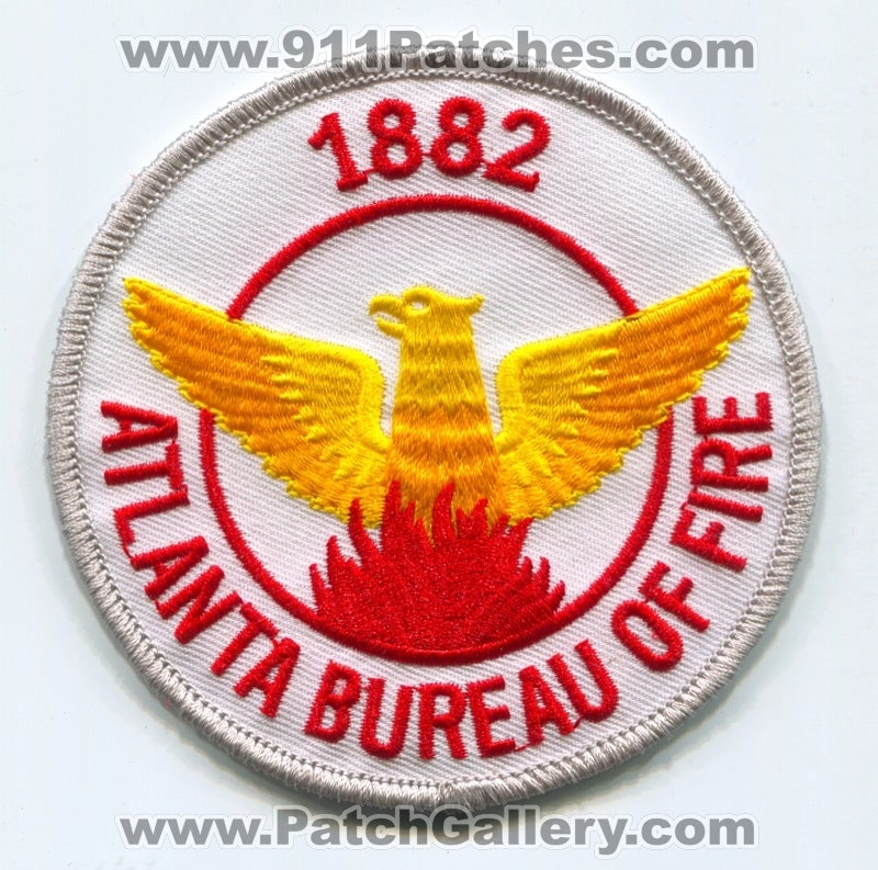 Atlanta Bureau of Fire Patch Georgia GA