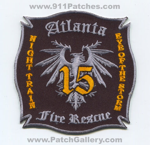 Atlanta Fire Rescue Department Company 15 Patch Georgia GA