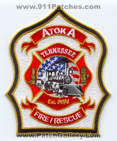 Atoka Fire Rescue Department Patch Tennessee TN