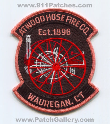 Atwood Hose Fire Company Wauregan Patch Connecticut CT
