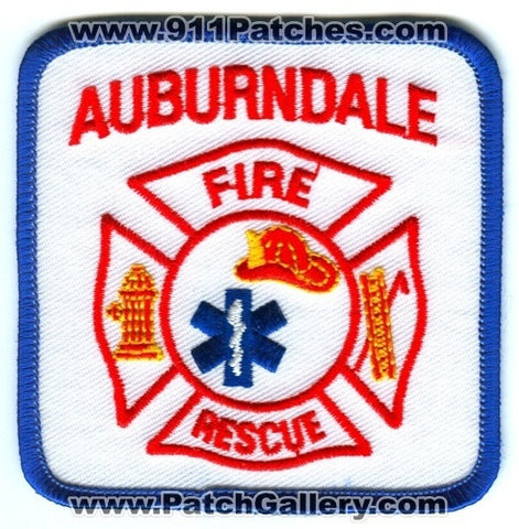 Auburndale Fire Rescue Department Patch Wisconsin WI