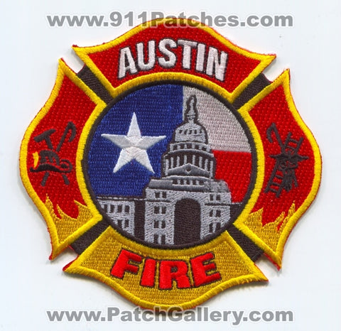 Austin Fire Department Patch Texas TX SKU999