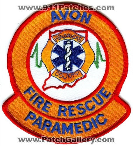 Avon Fire Rescue Department Paramedic EMS Patch Indiana IN