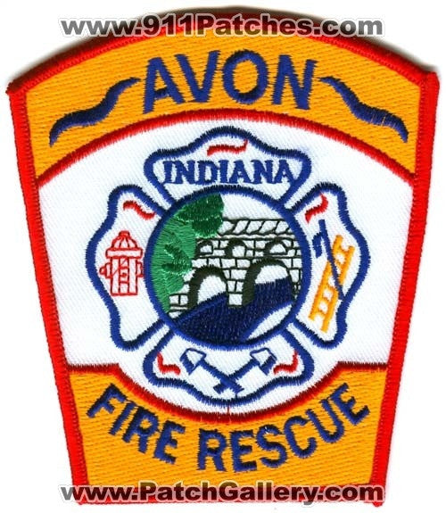 Avon Fire Rescue Department Patch Indiana IN