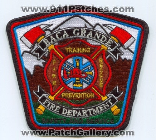 Baca Grande Fire Rescue Department Patch Colorado CO