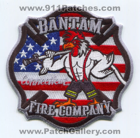 Bantam Fire Company Patch Connecticut CT