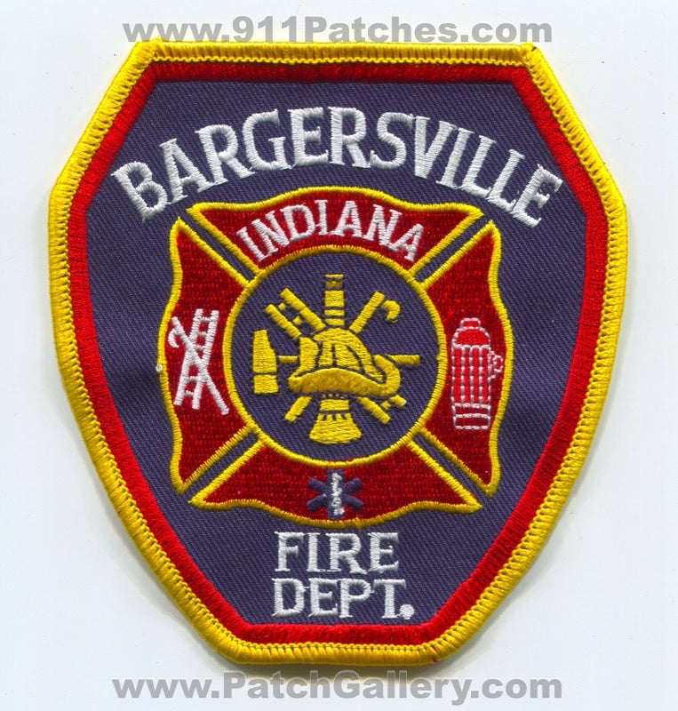 Bargersville Fire Department Patch Indiana IN