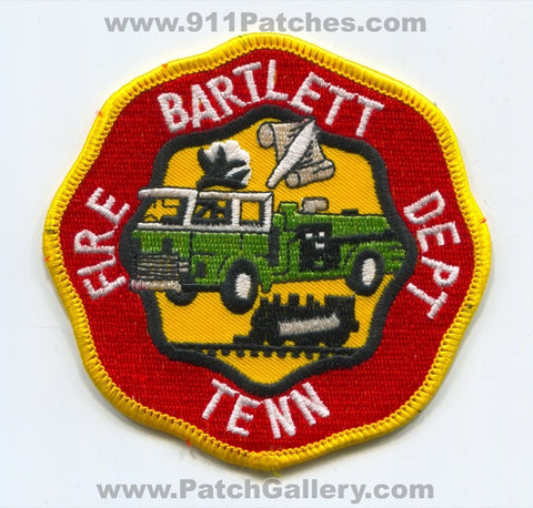 Bartlett Fire Department Patch Tennessee TN