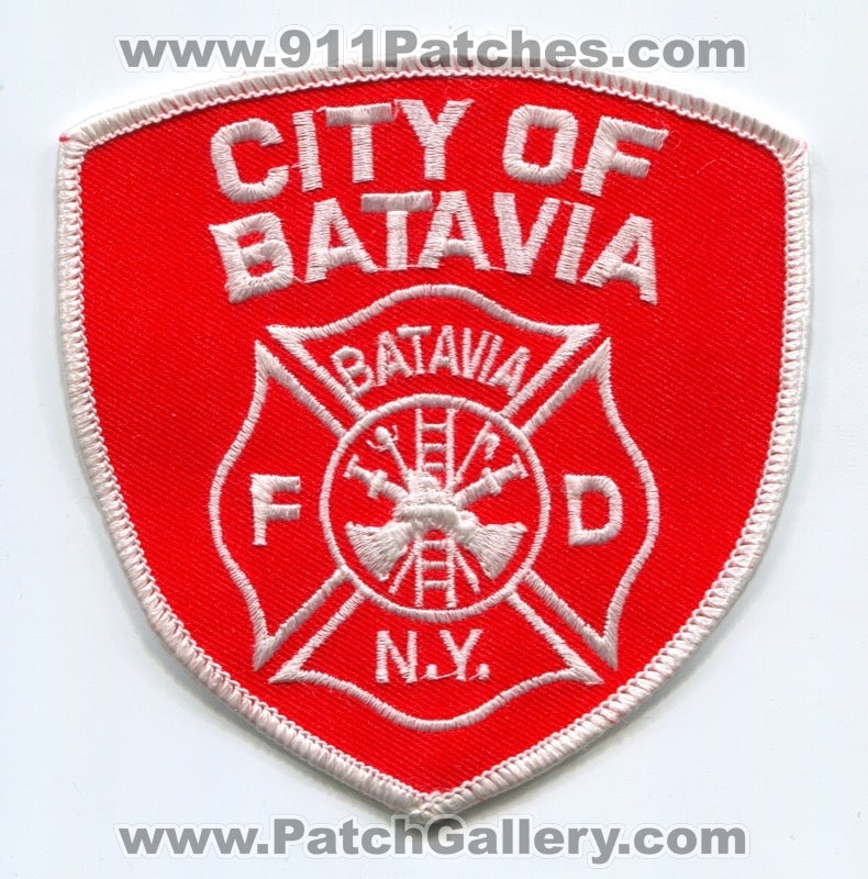 Batavia Fire Department Patch New York NY