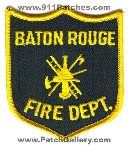 Baton Rouge Fire Department Patch Louisiana LA