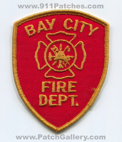 Bay City Fire Department Patch Michigan MI