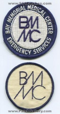Bay Memorial Medical Center Emergency Services EMS Patch Florida FL