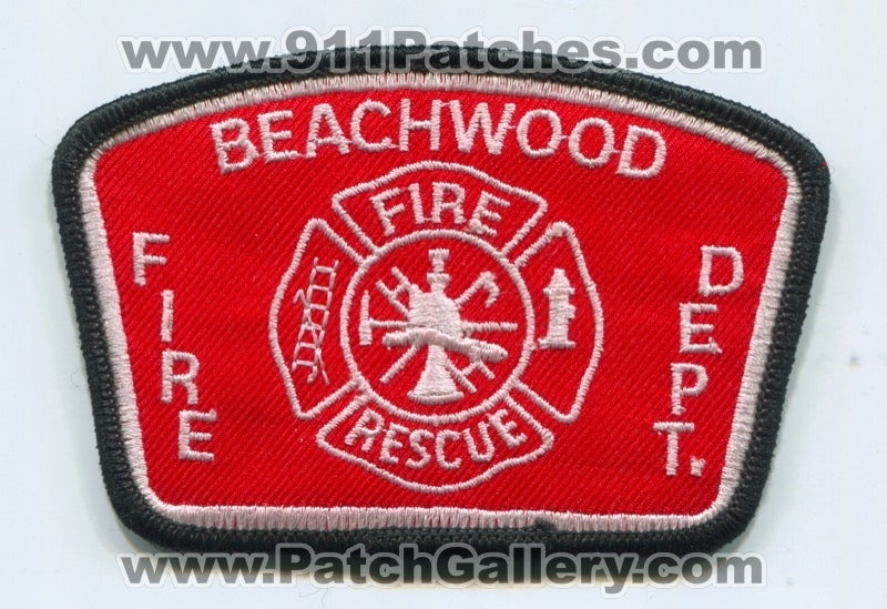 Beachwood Fire Rescue Department Patch Ohio OH
