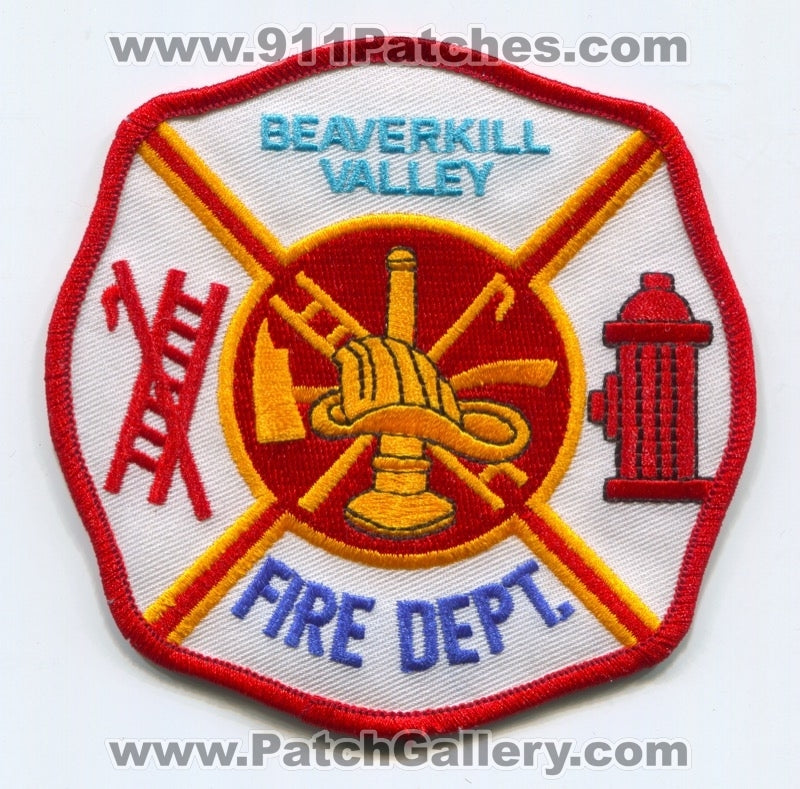 Beaverkill Valley Fire Department Patch New York NY
