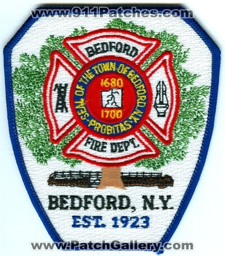 Bedford Fire Department Patch New York NY