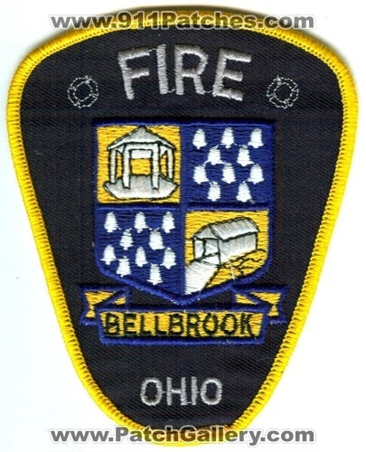 Bellbrook Fire Department Patch Ohio OH