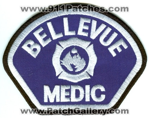 Bellevue Fire Department Medic Patch Washington WA