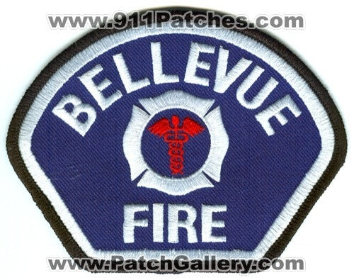 Bellevue Fire Department Medic EMS Patch Washington WA