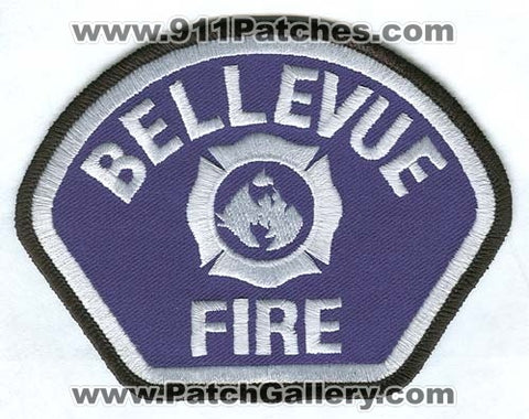 Bellevue Fire Department Patch Washington WA White