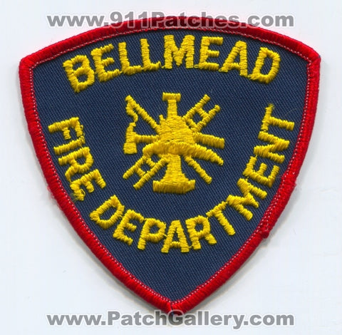 Bellmead Fire Department Patch Texas TX