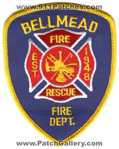 Bellmead Fire Rescue Department Patch Texas TX