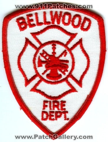 Bellwood Fire Department Patch Illinois IL