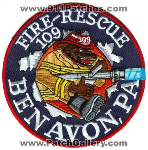 Ben Avon Fire Rescue Department Station 109 Patch Pennsylvania PA