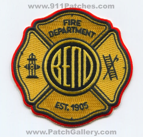 Bend Fire Department Patch Oregon OR