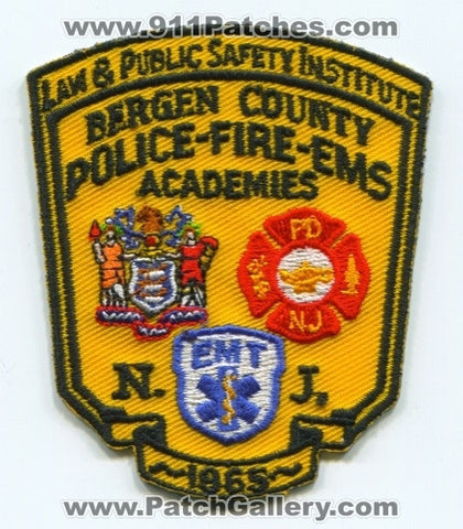 Bergen County Police Fire EMS Academies Patch New Jersey NJ