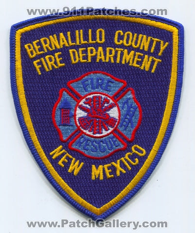 Bernalillo County Fire Rescue Department Patch New Mexico NM