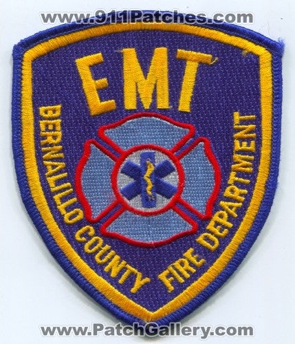 Bernalillo County Fire Department EMT EMS Patch New Mexico NM