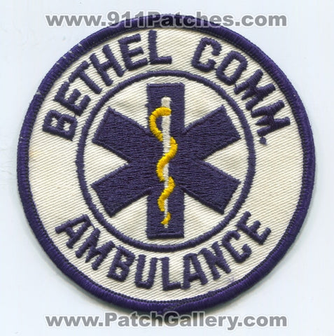Bethel Community Ambulance EMS Patch Pennsylvania PA