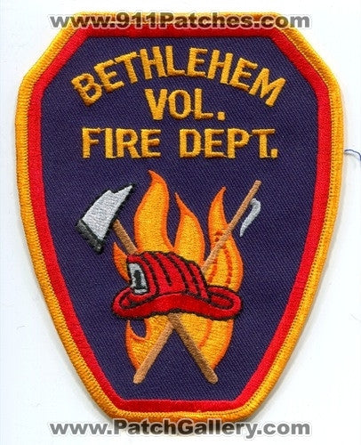 Bethlehem Volunteer Fire Department Patch North Carolina NC